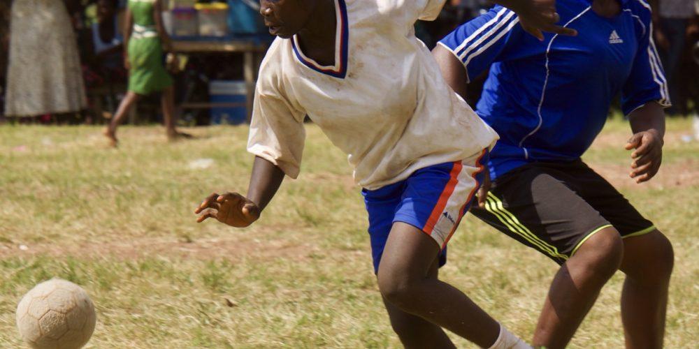 Sport en spel Fetentaa UNHCR Refugee Camp